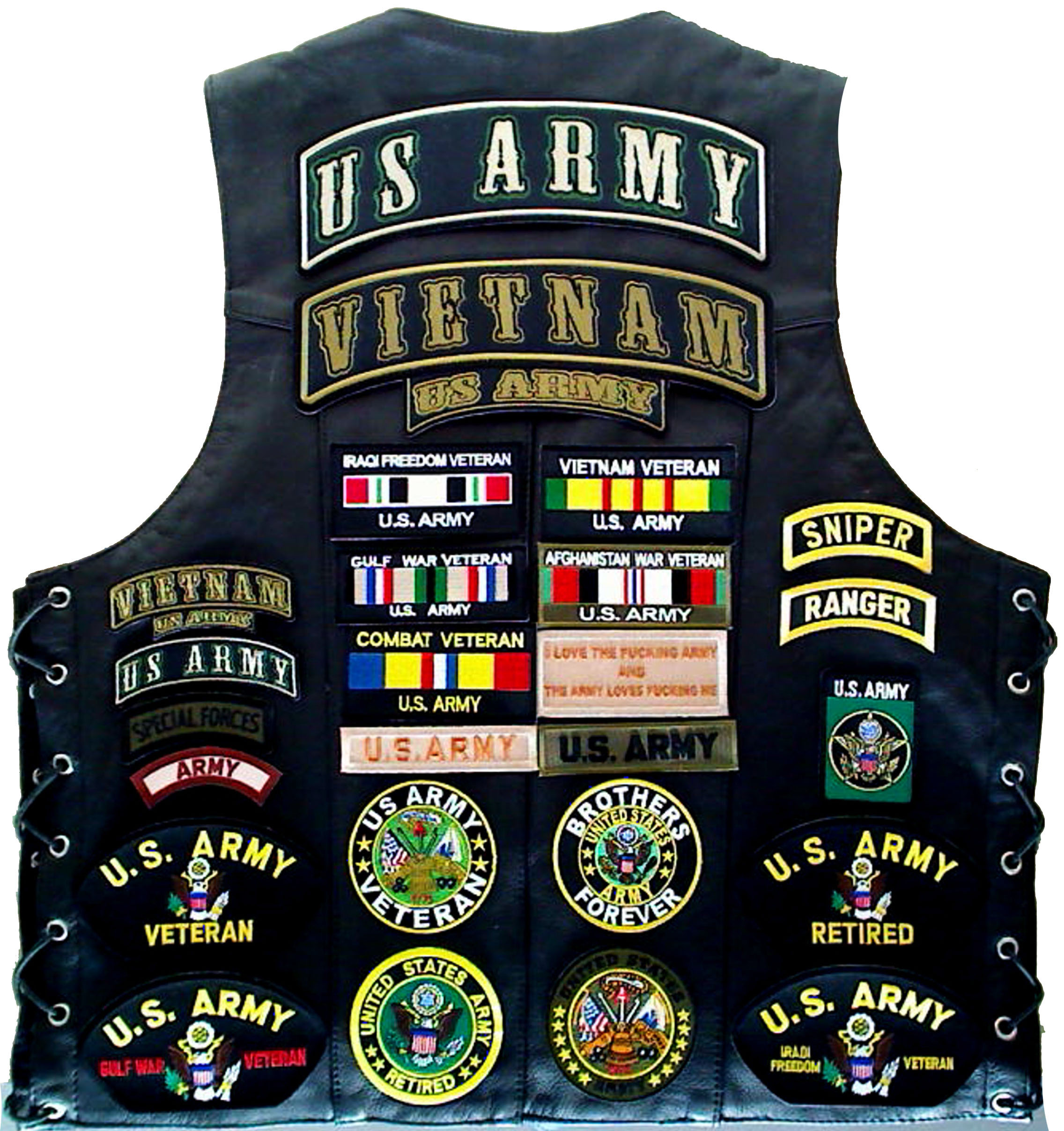Vietnam Army Patches Meanings