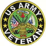 Veteran US Army Patch | US Military Veteran Patches