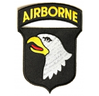 101st Airborne Army Patch | Embroidered Patches