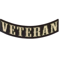 Veteran Lower Rocker Patch | US Military Veteran Patches