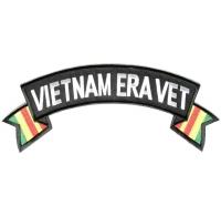 Vietnam Era Vet Large Rocker Patch | US Military Vietnam Veteran Patches