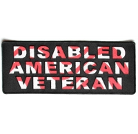 Disabled American Veteran Patch | US Military Veteran Patches