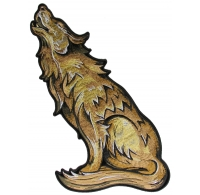 Howling Wolf Back Patch