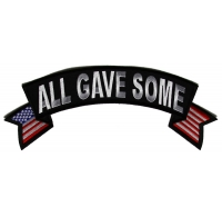 All Gave Some Top Rocker Patch with US Flags