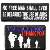 military saying patches