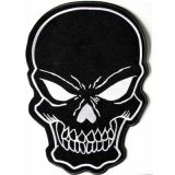 Large Skull Patches