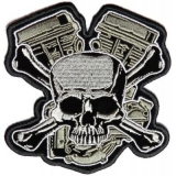 Small Skull Patches