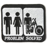 Small Biker Patches