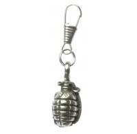Grenade Zipper Pull