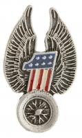 No 1 USA Winged wheel pin