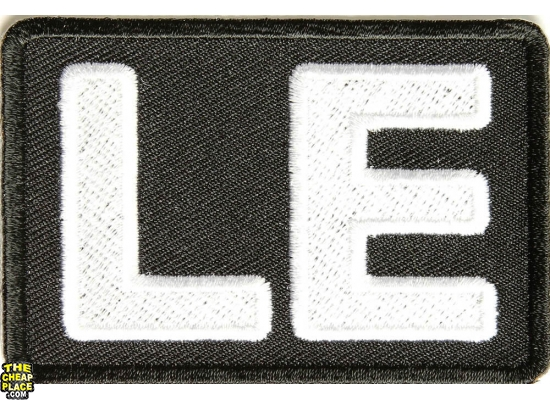 Law Enforcement Patch | Embroidered Patches