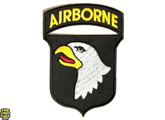 101st Airborne Patch | US Army Military Veteran Patches