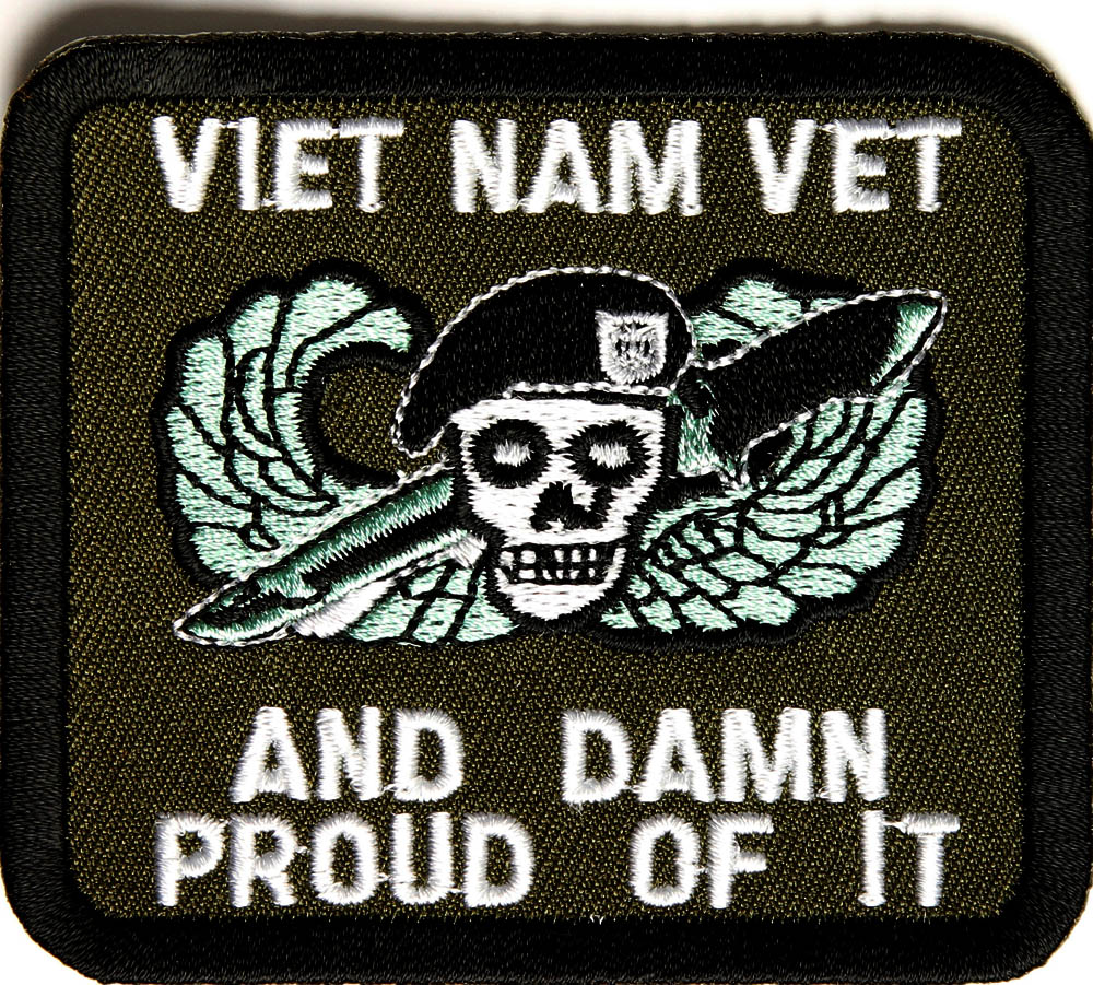 "Rothco Vietnam Veteran Black and Yellow Patch - 6"" x 3 ... 