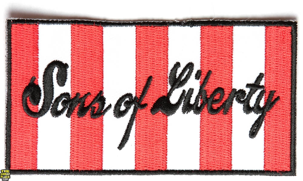 Sons+Of+Liberty Sons of Liberty Flag Patch | Embroidered Patches | ON ...
