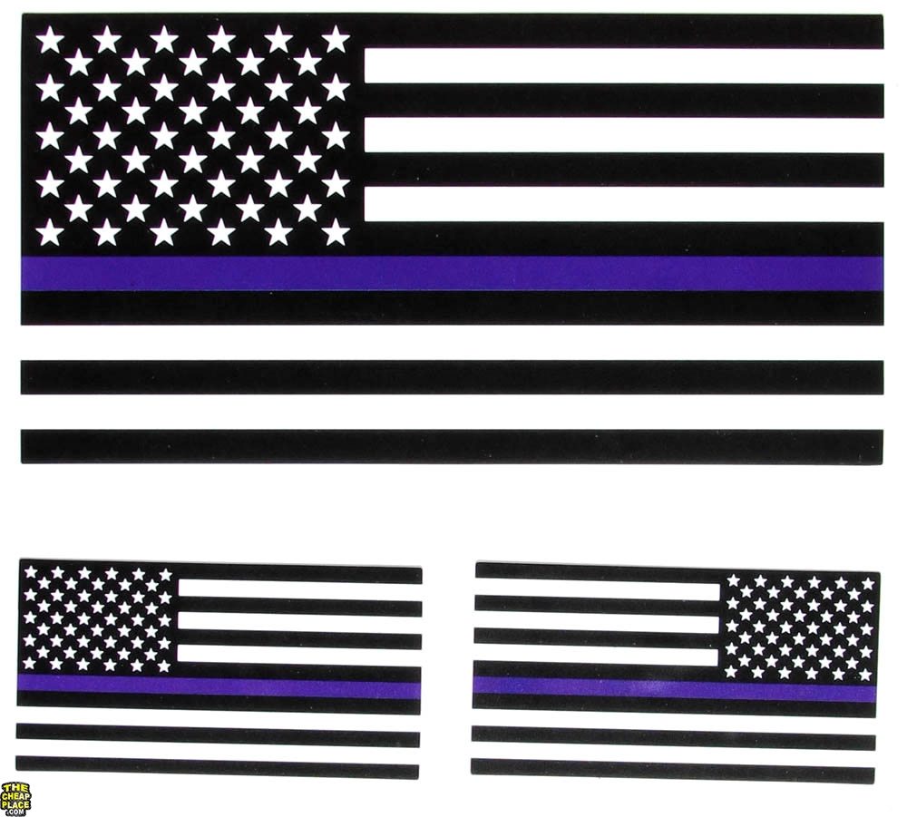 flag line thin american decal sticker multicam police usa stickers helmet decals thecheapplace 6x1 5x2 biker stick