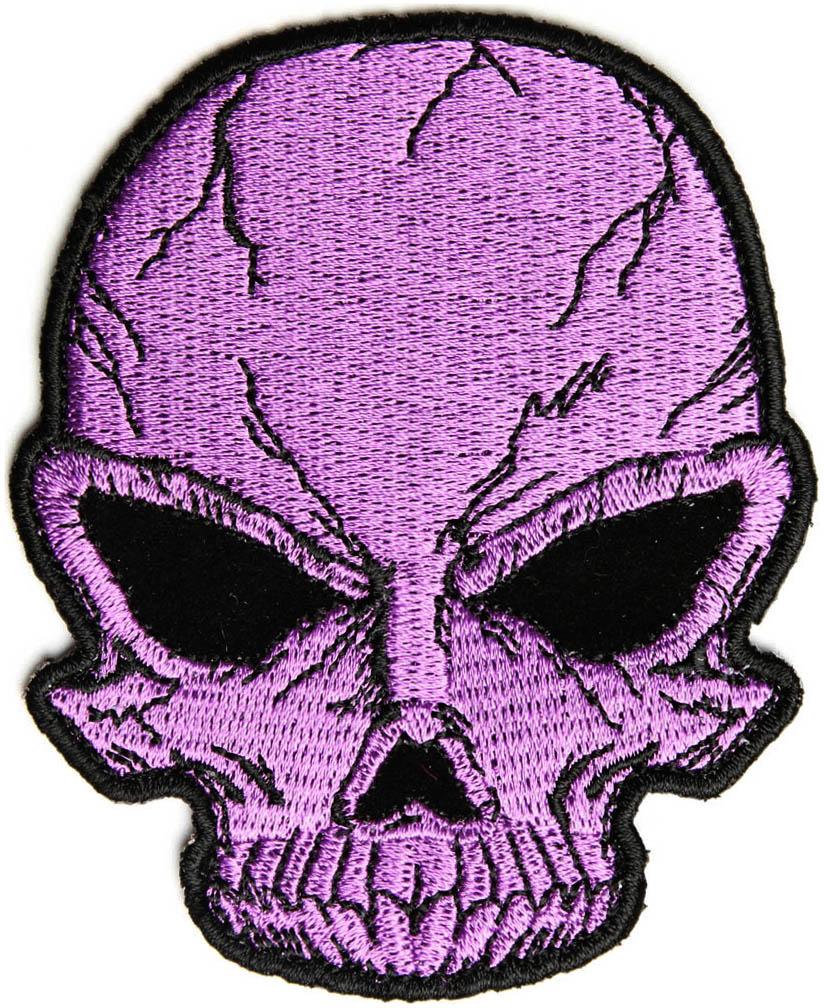 Skull On Purple Fire Purple fire sk
