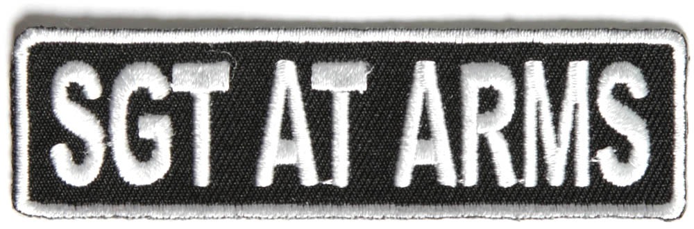 SGT AT ARMS Patch