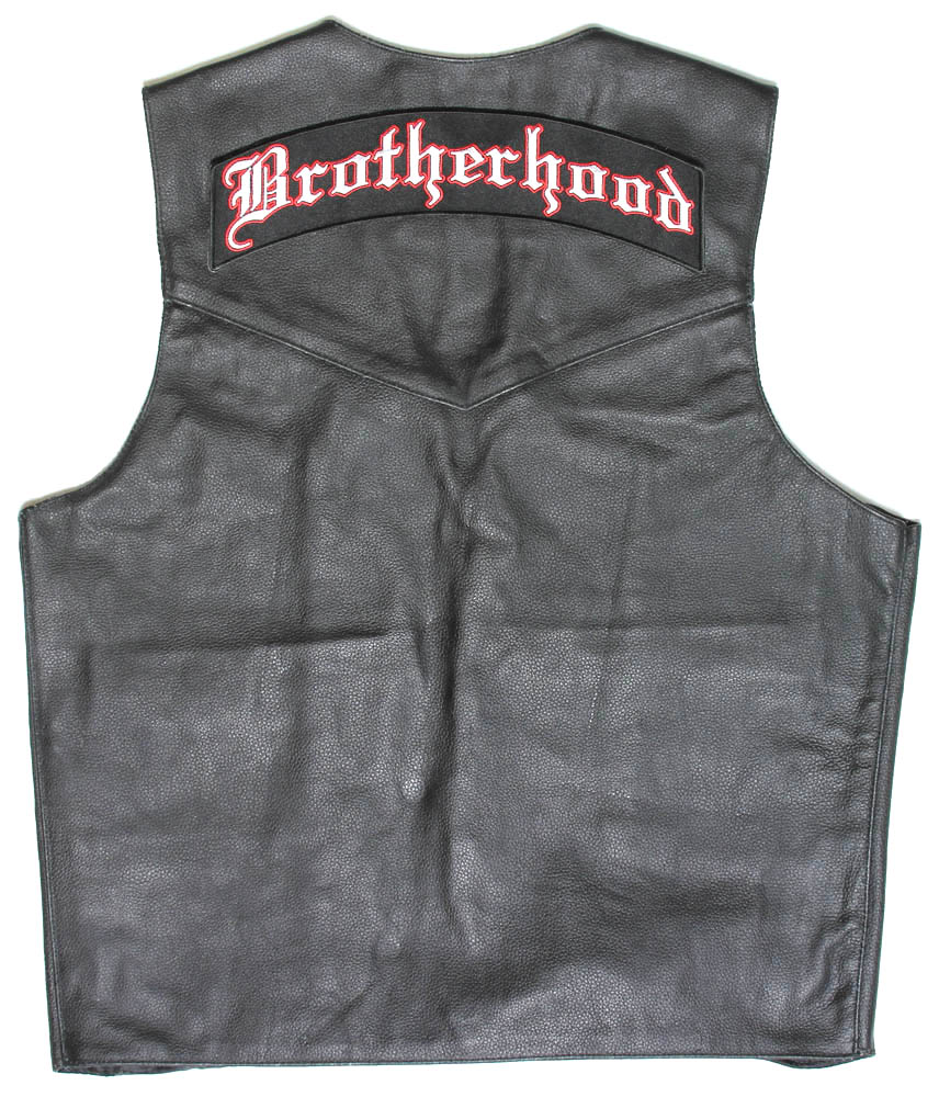 Large back vest patch