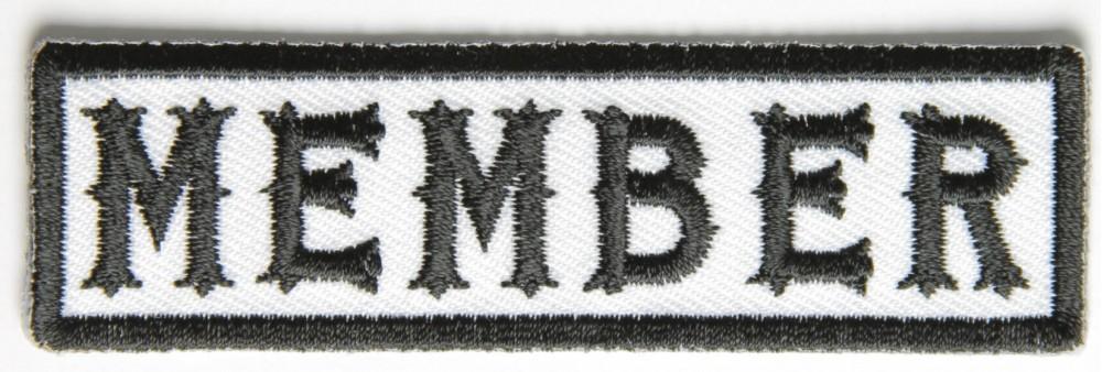 Founder Motorcycle Biker Jacket//Vest Patch Status Position Member Rank