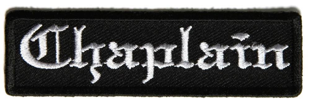 Chaplain Patch