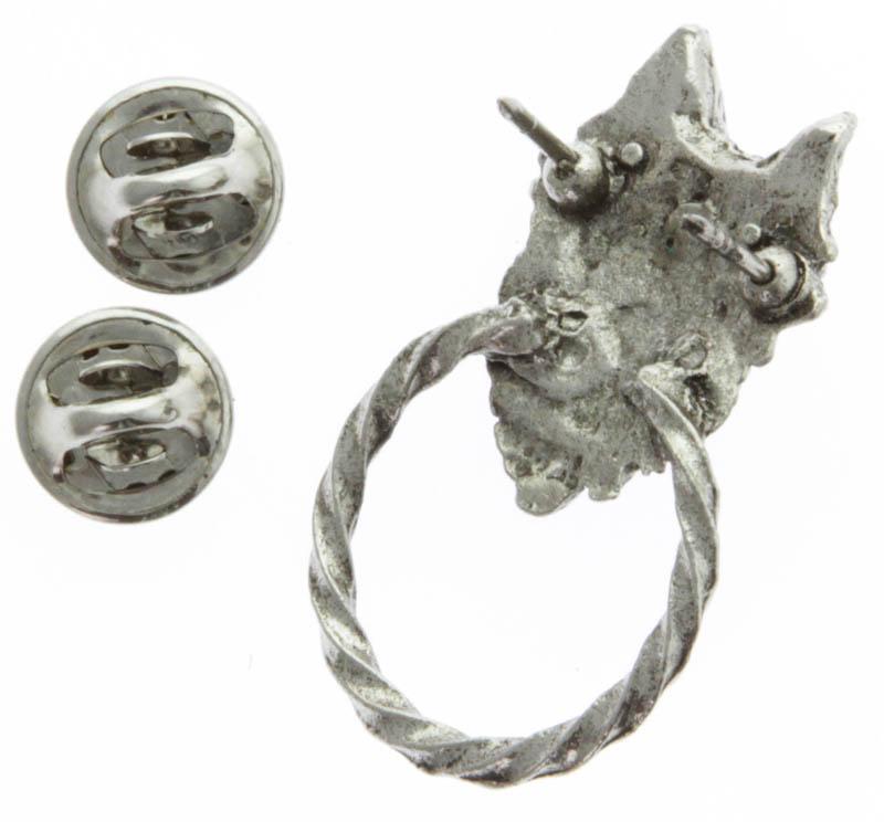 Wolf Head Sunglass Hanger Pin