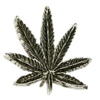 Cannabis Leaf Pin