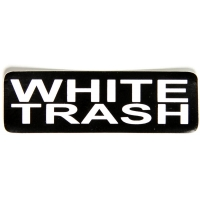 White Trash Sticker