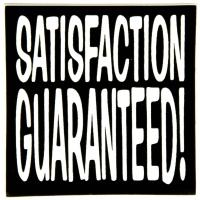 Satisfaction Guaranteed Sticker