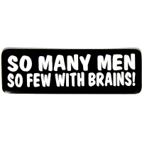 So Many So Few With Brains Sticker