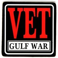 Vet Gulf War Sticker