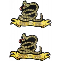 Don't Tread On Me Snake Sticker