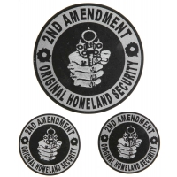 2nd Amendment Original Homeland Security Sticker