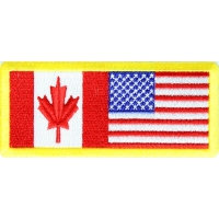 USA Canada Patch | Embroidered Patches