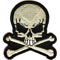 Skull And Bones Small Patch | Skull Patches