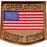 Operation Desert Storm Patch | US Iraq War Military Veteran Patches