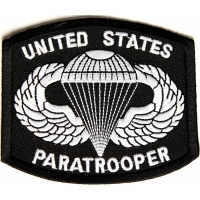 US Paratrooper Patch | US Army Military Veteran Patches