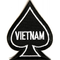 Vietnam Spade Patch | US Military Vietnam Veteran Patches