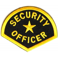 Security Officer Patch | Embroidered Patches