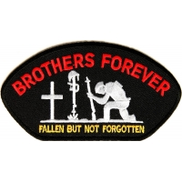 Brothers Forever Cap Patch | US Military Veteran Patches