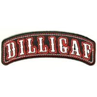 Dilligaf Rocker Small Patch | Embroidered Patches