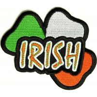 Irish Shamrock Patch | Embroidered Patches