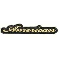 American Patch Small | Embroidered Patches
