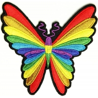 Colorful Butterfly Patch | Embroidered Patches