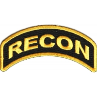 Recon Patch Rocker | US Army Military Veteran Patches