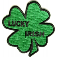 Lucky Irish Shamrock Patch | Embroidered Patches