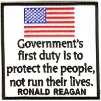 Ronald Reagan Said Patch | US Military Veteran Patches