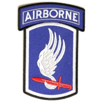 173rd Airborne Patch | US Army Military Veteran Patches