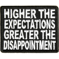 Higher Expectations Patch | Embroidered Patches