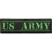 US Army Green Stamp Patch | US Army Military Veteran Patches