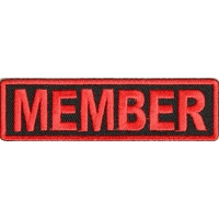 Member Patch Red